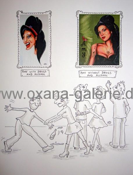 oxana-galerie_de_Karikatur_Amys_two_faces