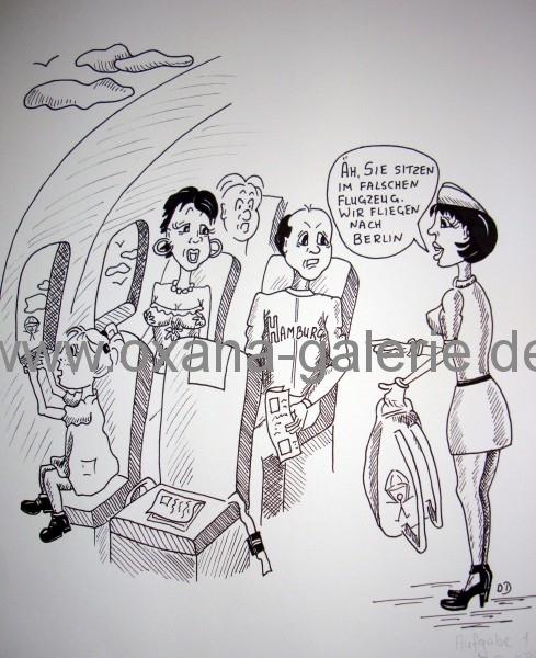 oxana-galerie_de_Karikatur_Falsches_Flugzeug