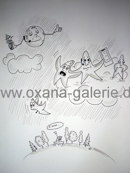 oxana-galerie_de_Karikatur_Wish_upon_a_star