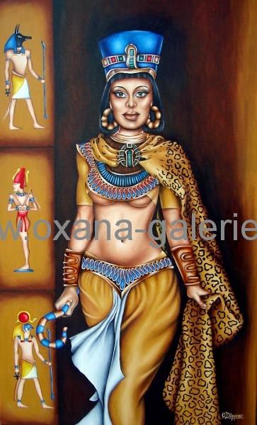 Oxana-Galerie.de Kleopatra in Öl